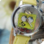 Часы со Спанч Бобом (Губка Боб) фото