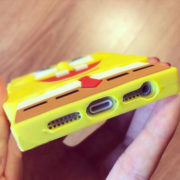 Чехол со Спанч Бобом (Губка Боб) на айфон 5-5S-6-6+ фото