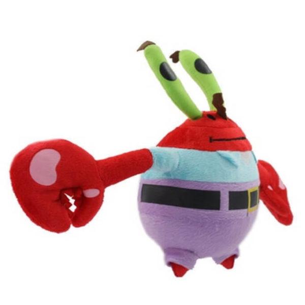 На картинке мягкая игрушка Мистер Крабс из Спанч Боба, общий вид.