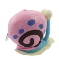 На картинке мягкая игрушка Улитка Гэри из Спанч Боба, вид сбоку.