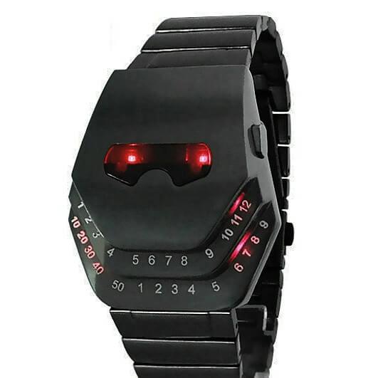 На картинке часы Железного Человека (Iron Man) 2 варианта, вариант Красный.