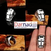 На картинке кольцо Железный Человек (Iron Man), вид с разных сторон.