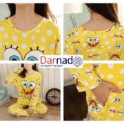 Пижама со Спанч Бобом (Губка Боб) женская фото