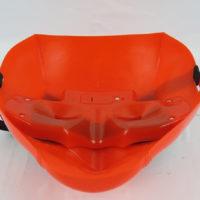 На картинке пластиковая маска Дедпула (Дедпул \ Deadpool), вид сзади.
