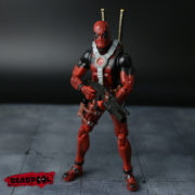 Подвижная фигурка Дэдпула \ Дедпула с набором оружия (Deadpool) фото