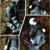 На картинке фигурка Кена Канеки «Токийский гуль» (Tokyo Ghoul), детали.
