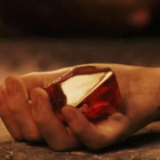 Кулон настоящий философский камень «Гарри Поттер» фото