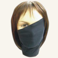 На картинке маска Какаши из Наруто (Naruto), вид спереди.