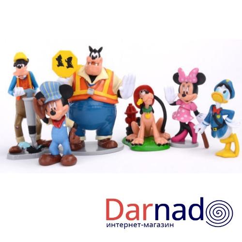 Набор фигурок Микки Мауса и его друзей (герои Дисней)