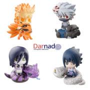 Набор фигурок героев Наруто (Naruto) с питомцами (2 варианта) фото
