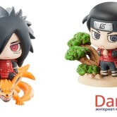На картинке набор фигурок героев Наруто (Naruto) с питомцами (2 варианта), отдельные фигурки.