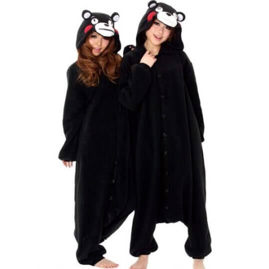Пижама-кигуруми в виде мишки Кумамона (Kumamon)
