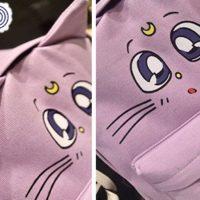 Рюкзак Сейлормун (Sailor Moon) с ушками, детали