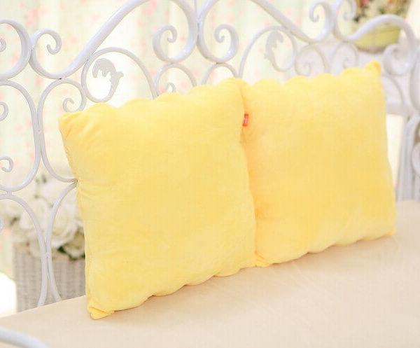 На картинке подушка в виде Губки Боба (Спанч Боб) 5 вариантов, вид сзади.