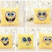 Подушка в виде Губки Боба (Спанч Боб) 5 вариантов фото