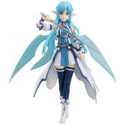 На картинке фигурка Асуна Юки подвижная (Sword Art Online) из ALO, вид спереди.