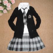 Японская школьная форма с кардиганом фото