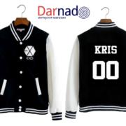 Куртка с логотипом и именами корейцев из EXO (10)