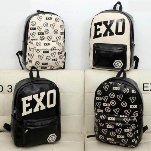 На картинке рюкзак Exo (4 варианта), вид спереди.