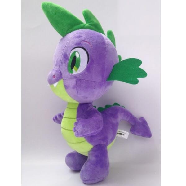 На картинке мягкая игрушка дракончик Спайк из Май Литл Пони (My little pony \ Дружба это чудо), общий вид.