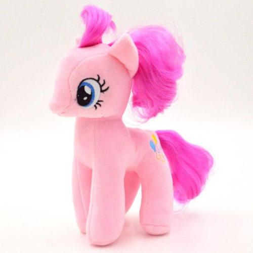 На картинке мягкая игрушка пони Пинки Пай из Май Литл Пони (My little pony \ Дружба это чудо), общий вид.