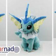 Мягкая игрушка покемон «Вапореон» Vaporeon (2 варианта) фото