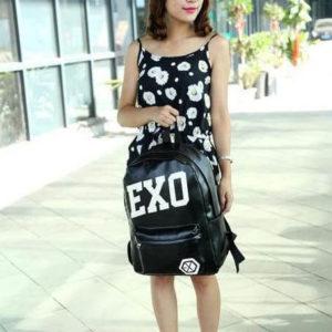 На картинке рюкзак Exo (4 варианта), вид спереди, вариант 1.