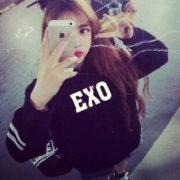 Толстовка с группой Exo фото