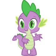 Мягкая игрушка дракончик Спайк из Май Литл Пони (My little pony \ Дружба это чудо) фото