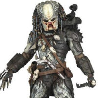 На картинке коллекционная фигурка Хищник 2 Старейшина (Predator neca \ Нека), детали.