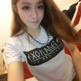 На картинке футболка Exo (10 вариантов) фото, вид спереди, вариант Xiumin.