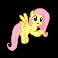 На картинке мягкая игрушка пони Флаттершай из Май Литл Пони (My little pony \ Дружба это чудо), промо к сериалу.