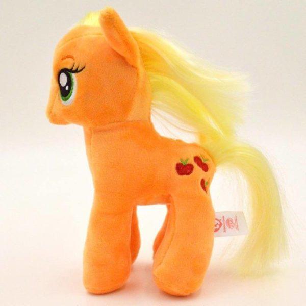 На картинке мягкая игрушка пони Эпплджек из Май Литл Пони (My little pony \ Дружба это чудо), общий вид.