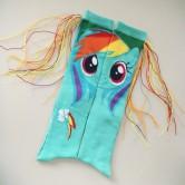 На картинке гольфы Май Литл Пони (My little pony \ Дружба это чудо), общий вид.