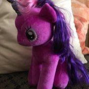 Мягкая игрушка пони Сумеречная Искорка с крыльями из Май Литл Пони (My little pony \ Дружба это чудо) фото