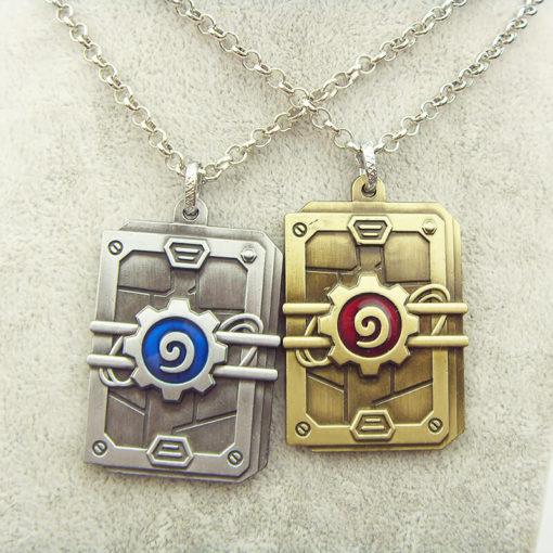 На картинке кулон Варкрафт «Набор карт Hearthstone» (World of Warcraft) WoW, 2 варианта.