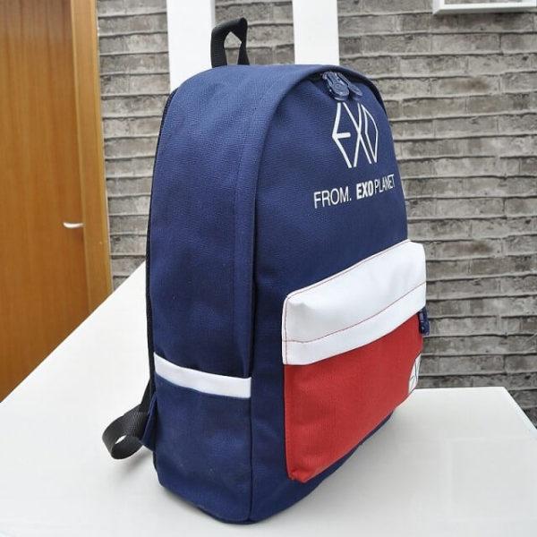 На картинке школьный рюкзак Exo planet, общий вид.