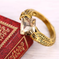 На картинке кольцо крестраж Марволо Мракса из Гарри Поттера (Harry Potter), общий вид.