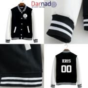 Куртка с логотипом и именами корейцев из EXO фото