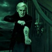 Кулон символ Пожирателей Смерти «Гарри Поттер» (Harry Potter) фото