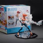 Аниме-Figuarts-нулевой-одна-часть-нами-молочно-мяч-ver-Пвх-фигурку-коллекционная-модель-игрушки-14-см