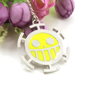Классическая-аниме-одна-часть-пиратский-флаг-логотип-улыбкой-лицо-прекрасное-ожерелье-для-косплея