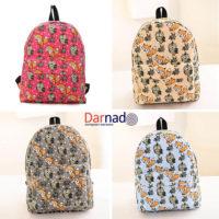 Рюкзак с совами и лисами (4 варианта)