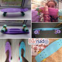 Скейт пенни борд, детали, реальные фото