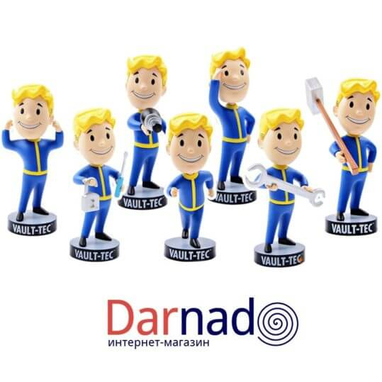 Горячая-Gaming-Heads-Fallout-4-Символов-Vault-Boy-Bobbleheads-Серии-ПВХ-Фигурку-Коллекция-Вентилятор-Ребенок-Подарок