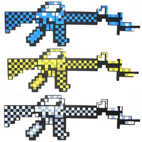 Новые-Minecraft-игрушки-Minecraft-меч-пистолет-EVA-пена-модель-игрушка-фигурки-игрушки-Brinquedos-подарки-для-детей