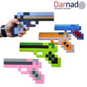 Пистолет Майнкрафт (Minecraft) 5 вариантов