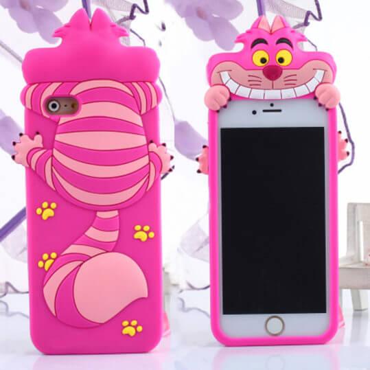 Симпатичные-3D-чеширский-кот-силиконовый-чехол-для-iphone-5-5S-6-6-s-6-плюс-чехол