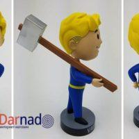 Фигурка Волт бой (Fallout) Фоллаут, фигурка с разных сторон