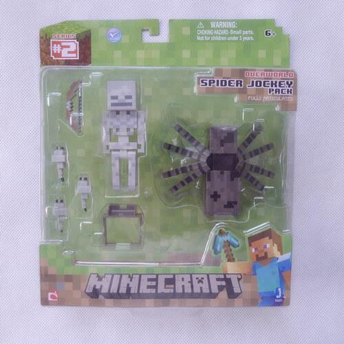 Minecraft-надземным-паук-жокей-блок-оригинальный-Jazwares-игрушки-и-игры-фигурку-новые-в-коробке